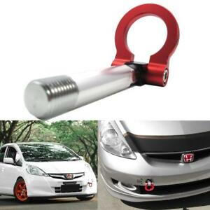 Sports Red Track Racing Style Aluminum Tow Hook For Honda Fit Jazz Insight Crz