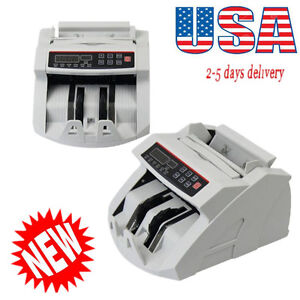 Money Bill Currency Counter Counting Counterfeit Detector Uv Mg Cash Machine Ups