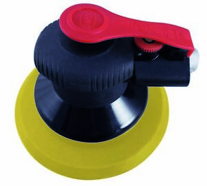 Astro Pneumatic 322p Onyx 6 In Finishing Palm Sander 6 In Pu Psa Backing Pad