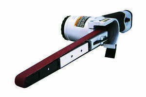 Astro Pneumatic 3037 Air Belt Sander 1 2in X 18in W 3pc Belts 40 60