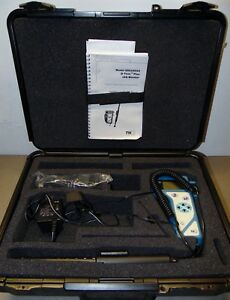 Tsi 8554 Q trak Plus Iaq Indoor Air Quality Monitor Tester With Carrying Case
