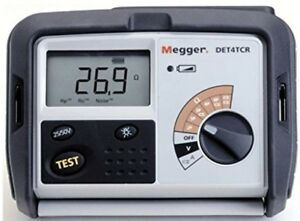 Megger Det4tc2 4 terminal Ground Resistance Tester With Dry cell Battery Ohms