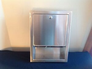 Bradley Stainless Steel Paper Towel Dispenser 2441 100000