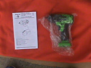 Snap on 18 Volt 3 8 Drive Green Cordless Impact Wrench Bare Tool Only Ct8810 New