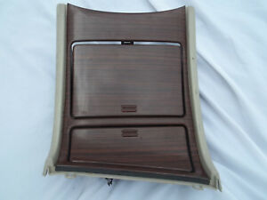 2002 Only Cadillac Escalade Lower Bezel Center Console Cupholder Cup Holder Oem