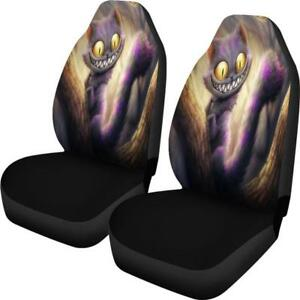 Cheshire Cat Car Seat Covers Alice In Wonderland Universal Fit Set Of 2 Freepost