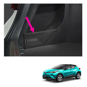 Left Side Rear Trunk Cargo Net Black Genuine For Toyota C hr Suv 2018 2019