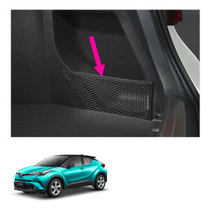 Right Side Rear Trunk Cargo Net Black Genuine For Toyota C hr Suv 2018 2019