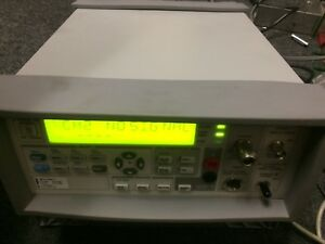 Agilent 53147a Microwave Frequency Counter 10hz 20ghz Power Meter