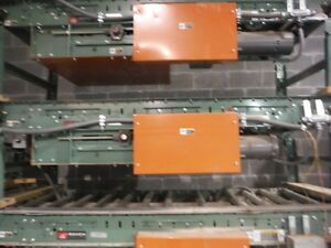 Belt Driven Live Roller Convyor By Roach Model 196lr Mfr 2005 Used