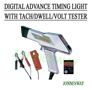 Jonnesway Digital Advance Timing Light With Tach dwell volt Tester