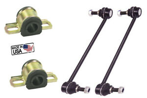 Front Left Right Sway Bar Links Sway Bar Bushing For Ford Fiesta 11 16 K750612