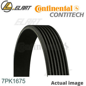 V ribbed Belts For Renault Kadjar r9m 414 Contitech 7pk1675