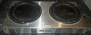 Bunn O Matic Dual Commercial Double Coffee Warmer Stainless Steel 666l