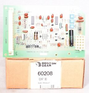Boston Gear 60208 Dc Motor Speed Controller