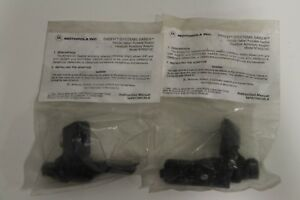 Lot Of 2 Motorola Ntn5213c Saber Systems Headset Handie talkie Accessory Adaptor