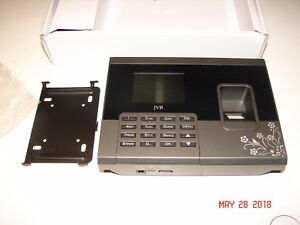 Jvr Oi03 Biometric Fingerprint Time Clock Attendance System New Unused In Box Nr