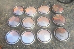 Lot Of Ford Mustang Cougar Mach 1 Wheel Center Caps 10 1 2