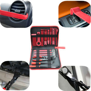 19x Car Interior Panel Removal Tool Retainer Clip Puller Light Housing Opener