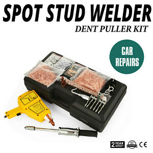 110v Uni Spotter 5500 Stinger Stud Welder Kit Stud Gun Auto Nails Lock