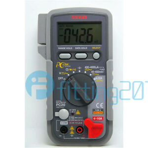 New Sanwa Pc20 Digital Multimeters Data Processing pc Link Pc 20