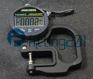New Gauge Metal Detector 0 001mm Digital Micron Thickness 0 12 7mm
