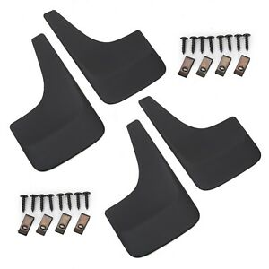 4pcs Mud Flaps Splash Guards For 01 14 Chevy Chevrolet Silverado Suburban Tahoe