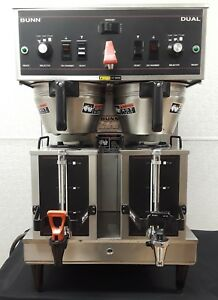 Bunn Dual Automatic Coffee Brewer Maker Machine 3 Batch Sizes