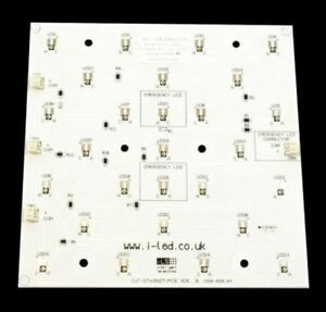 Ils Ilf oo27 stwh sc211 Oslon Square Powerflood Led Linear Array 27 White Led