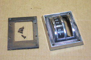 1967 1968 Other Ford Mustang Automatic Shifter Bezel Plate Without Console