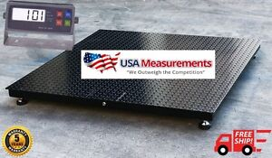 5 Year Warranty 48 X 48 4 X 4 Floor Scale Pallet Rs 232 10 000 X 1 Lb