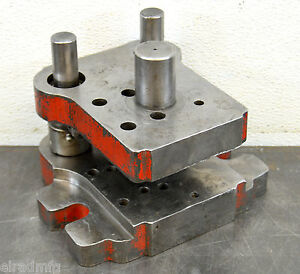 Punch Press Die Shoe Tooling Pneumatic Press Die Frame Air Bench Press 023