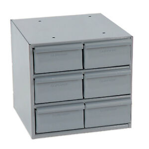 Durham Steel Storage Parts Drawer Cabinet 11 3 4x11 5 8x10 7 8 6 Compartments