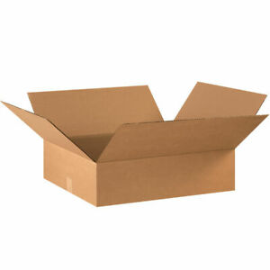 20 22 X 18 X 6 Corrugated Shipping Boxes Storage Cartons Moving Packing Box