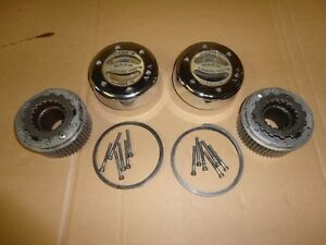 99 04 F 350 F 250 Super Duty Ford Dana 60 Warn Front Manual Outer Locking Hubs