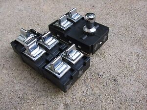 90 94 95 96 97 Lincoln Town Car Power Window Seat Switch Drivers Side Clean