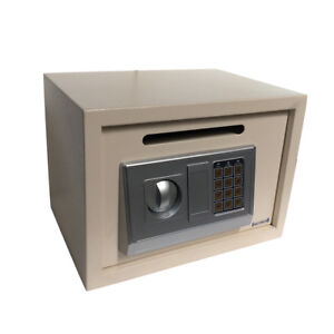 High Quality Security Vault Electronic Digital Safe Boxs Cash Money Slot Drop