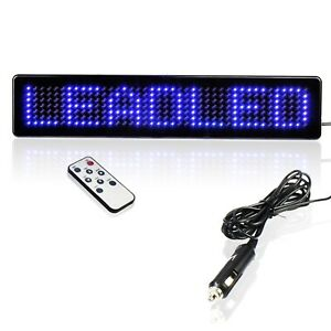 Leadleds Remote Led Programmable Program Easy Sign Driving Lights For By Remote