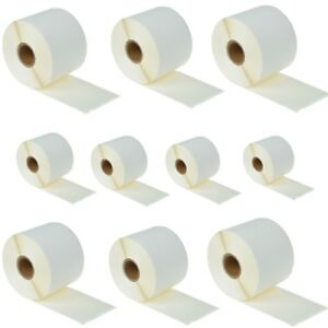 10 Roll 300 Large Shipping Labels For Dymo Labelwriters 30256 White 2 5 16 X 4
