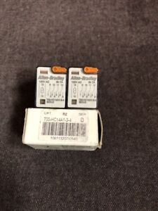 Lot Of 3 New Allen Bradley 700 hc14a1 3 4 Ice Cube Relay Free Shipping