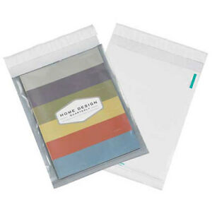 2 5 Mil Clear View Poly Mailers 9 x12 White 100 Pack Lot Of 1
