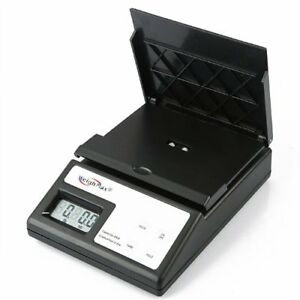 Weighmax Postal Scales Digital Shipping Mailing Battery Usps Style Design Black