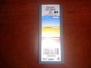 10 Brand New Iscar Ccgt 432 Ic20 Inserts