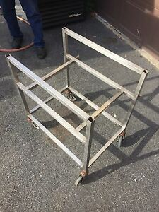 Stainless Steel Meat Lug Cart Food Transporter Nsf Wheeled Cart Used