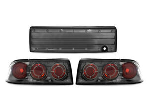 Euro Gunmetal Altezza Rear 3 Pieces Tail Lights For 92 94 Mitsubishi Eclipse