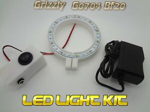 G0704 G0758 Pm 25 Bf 20 Mill Spindle Led Light Ring Cnc Grizzly Conversion
