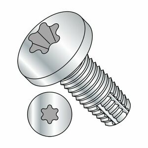 Small Parts 1020ftp Steel Thread Cutting Screw Zinc Plated Finish 1 1 4
