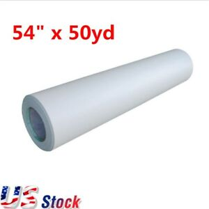 54 X 50yd Satin Cold Laminating Film Monomeric 3 15 Mil Paper Adhesive Glue Usa
