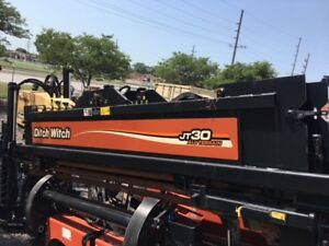 Ditch Witch At30 Jt30 Directional Drill Pipe And Rack 400 1491