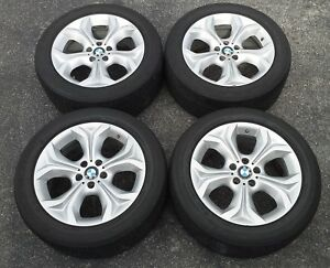 Set 4 Used Bmw X6 2010 19 Wheels And Tires 71441